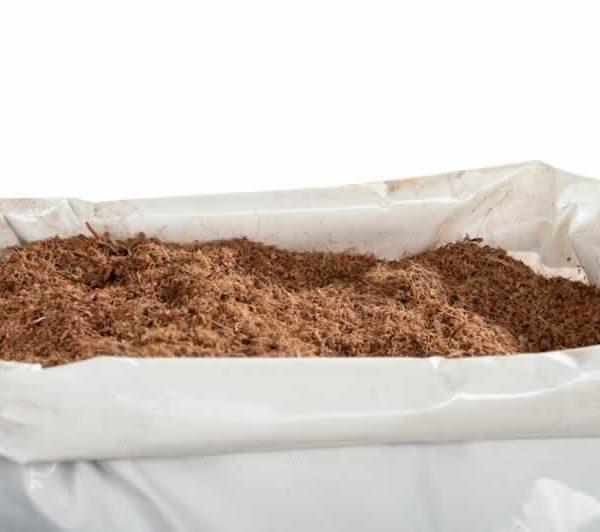 Humusziegel Blumenerde Aus Kokosfaser 20 Liter Beutel Kokosblumenerde Lose