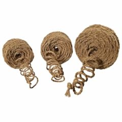 3er Set Kokosfaser Kokosseil Baumanbinder Kokosgarn Dekoseil