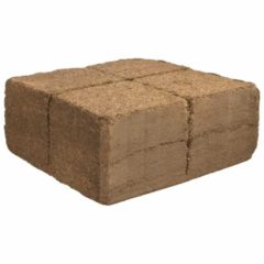 Humusziegel Kokoserde - 70 Liter Block gepresste Kokosblumenerde