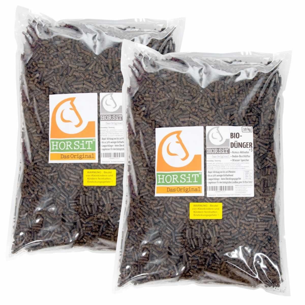 horsit 20kg biod nger pellets aus pferdedung bio d nger. Black Bedroom Furniture Sets. Home Design Ideas