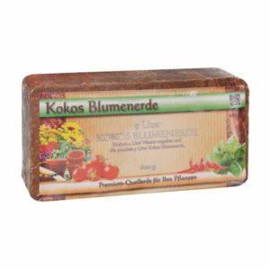 Kokoserde von Humusziegel - torffrei und ungedüngt - Ökologische Blumenerde - Premium Anzuchterde