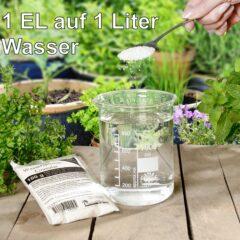 1.000 g (10 x 100 g) STOCKOSORB ® Wasserspeicher-Granulat Wassergel Superabsorber Portionsbeutel