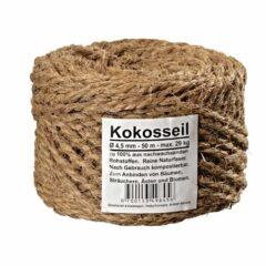 4,5mm - 50 m Kokosseil aus Kokosfaser Baumanbinder Kokosgarn Dekoseil