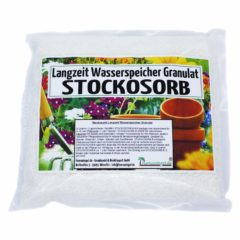 Stockosorb - Wasserspeicher-Granulat reicht für ca. 125 Liter Wasserspeicher-Gel