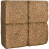 Humusziegel Block Kokosquellerde feine Kokosfaser-Blumenerde Portionierbar