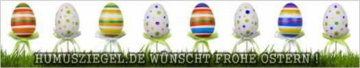 Humusziegel.de wünscht frohe Ostern